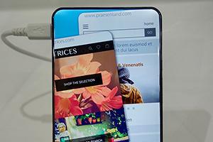 Sharp Corner R: foto dello smartphone senza cornici
