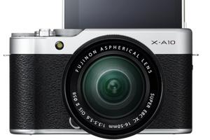 Fujifilm X-A10: la mirrorless per i selfie