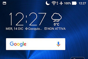ASUS Zenfone 3: screenshot del software