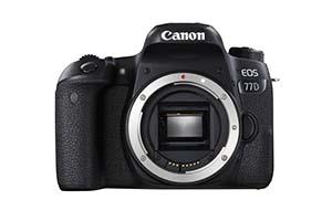 Canon EOS 77D, corpo macchina