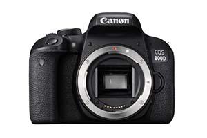 Canon EOS 800D, corpo macchina