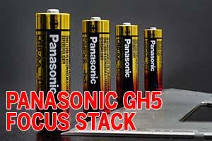 Panasonic Lumix GH5 - Focus bracketing