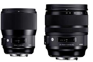 Nuovi Sigma Art 14mm F1.8, 135mm F1.8 e 24-70mm F2.8 OS
