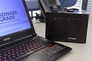 D-Link AC1200 DSL-3782: foto della recensione