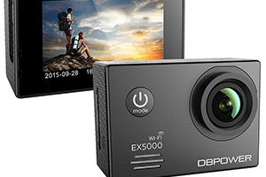 DBPower EX5000: foto della action-cam