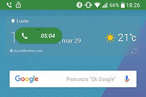 LG G6: screenshot della UI