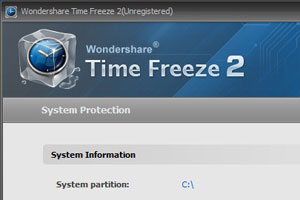 Time Freeze 2.0 una macchina del tempo per il PC