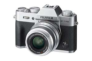Fujifilm X-T20, corpo macchina