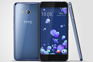 HTC U11 con finitura Liquid Surface