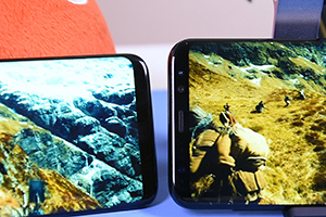 Samsung Galaxy S8 vs S8+: foto della comparativa