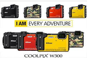 Nikon Coolpix W300: fino a -30m sott'acqua