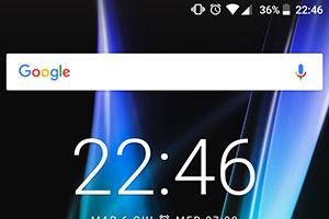 BQ Aquaris X: l'interfaccia grafica con Android 7.1.1 Nougat