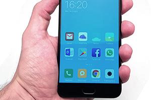 Xiaomi Mi 6: interfaccia utente (MIUI 8)