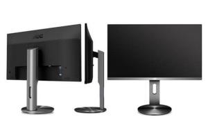 Monitor AOC per la produttività con design senza bordi'