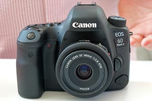 Canon EOS 6D Mark II: dal vivo la nuova full frame