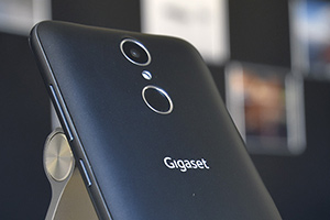 Gigaset GS160: foto dal vivo dell'entry-level