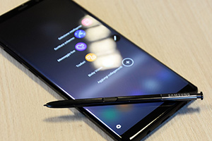 Samsung Galaxy Note 8: foto dal vivo