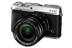 Fujifilm X-E3, le immagini ufficiali