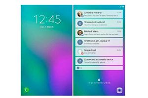 Samsung Galaxy X: l'ipotetica interfaccia dello smartphone pieghevole