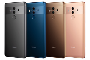 Huawei: la serie Mate 10 disponibile in Italia