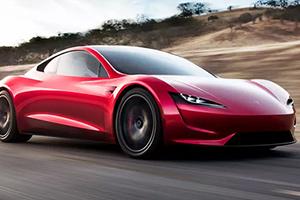 Tesla Roadster di seconda generazione: foto