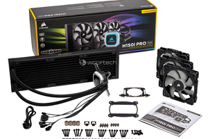 Corsair H150i PRO e H115i PRO, due nuovi dissipatori all-in-one con LED RGB