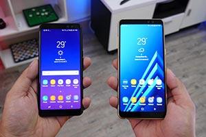 Samsung Galaxy A8 e A8+: eccoli in immagini reali