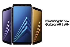 Samsung Galaxy A8 e A8+: le immagini ufficiali
