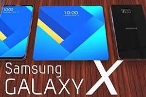 Samsung Galaxy X: le immagini del brevetto