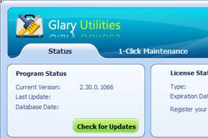Glary Utility per la pulizia del PC