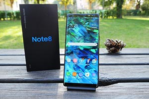 Samsung Galaxy Note 8: ecco le immagini di Android 8.0 Oreo