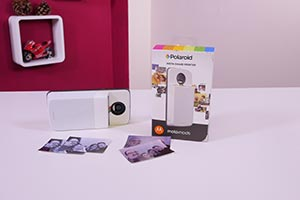 Moto Mod Polaroid Insta Share Printer: ecco come funziona