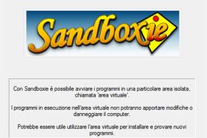 Sandboxie per eseguire in sicurezza le applicazioni