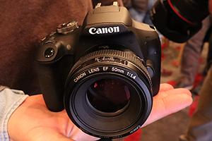 Canon EOS 2000D e 4000D eccole dal vivo