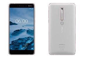 Immagini ufficiali del nuovo Nokia 6