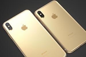 iPhone X Plus in versione ''Gold'': ecco le immagini render