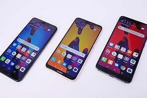 Huawei Serie P20: le immagini ufficiale dal vivo