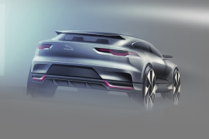 Jaguar I-PACE sketches