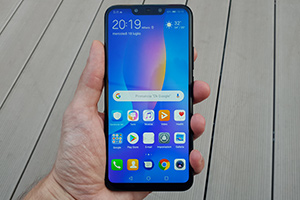 Huawei P Smart Plus: foto dal vivo