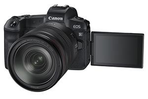 Canon EOS R: immagini ufficiali della nuova mirrorless