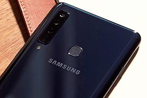 Samsung Galaxy A9: foto dal vivo