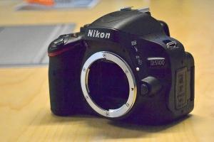 Nikon D5100 dal vivo