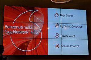 Vodafone: ecco la nuova rete Giga Network 4.5G