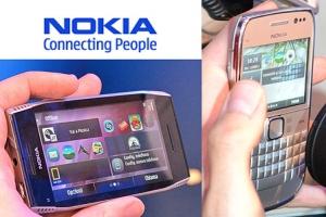 Nokia E6 e X7: dal vivo Symbian^3 Anna