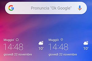 Honor View 10 Lite: l'interfaccia grafica EMUI