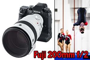 Fujinon XF200mmF2 R LM OIS WR, le prime immagini catturate con il nuovo tele super-luminoso Fuji