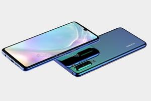 Huawei P30: i render non ufficiali