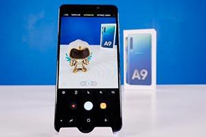 Samsung Galaxy A9: l'interfaccia grafica