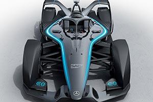 Mercedes: ecco le immagini dell'auto elettrica
