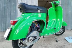 Retrokit Vespa, il kit per convertire all'elettrico lo storico scooter Piaggio